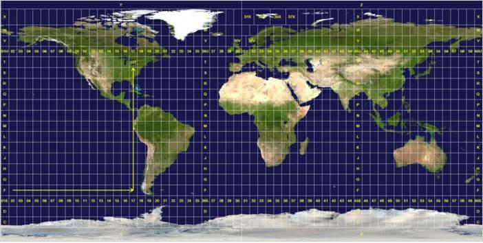 Conversor de Coordenadas Geográficas a UTM