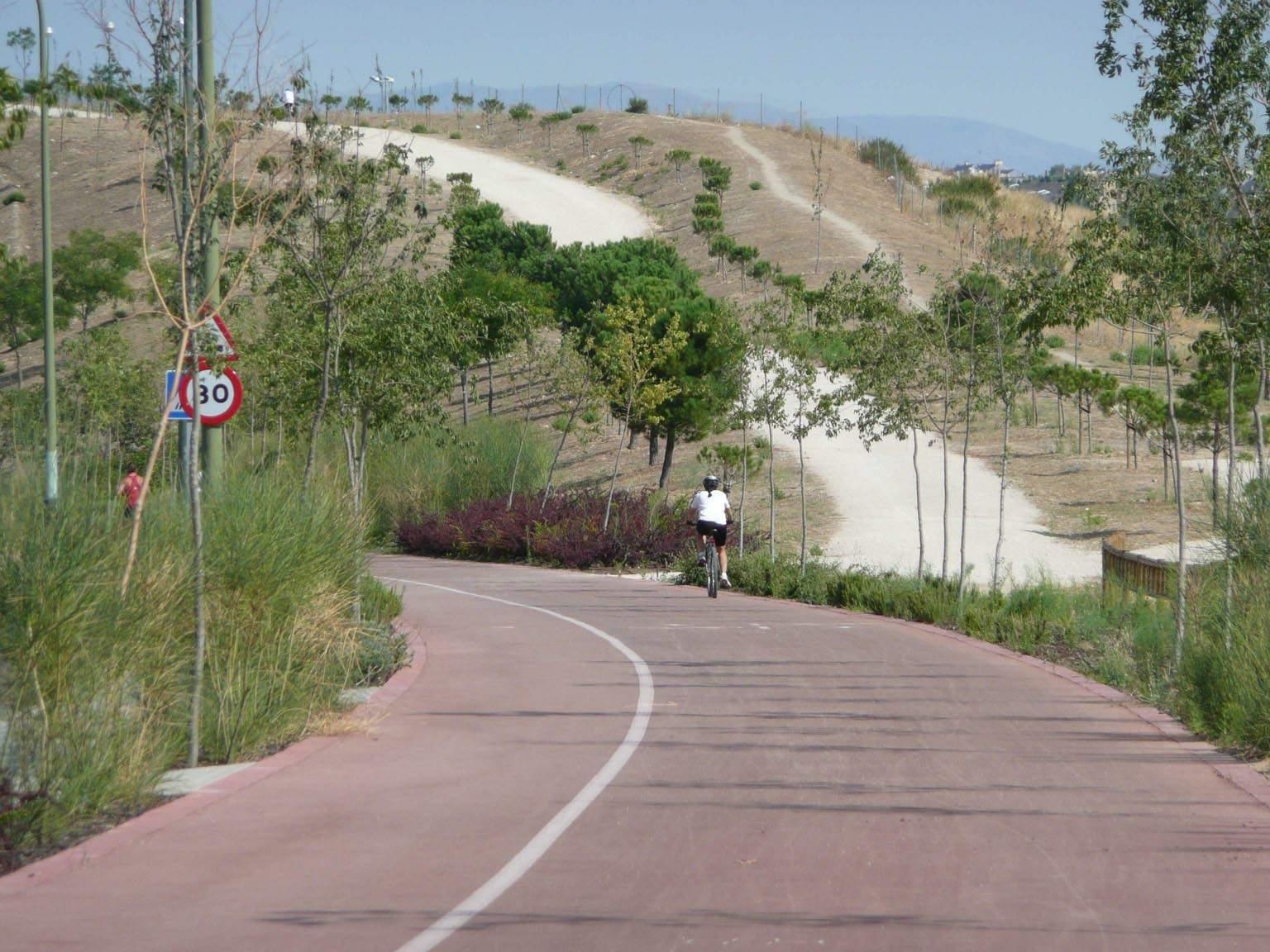 Anillo ciclista lfon set de todo un poco - Anillo verde ciclista madrid mapa ...