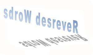 reversed words