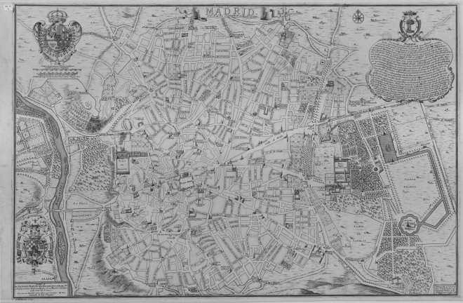 00001365000 - Plano Nicolás de Fer - 1706