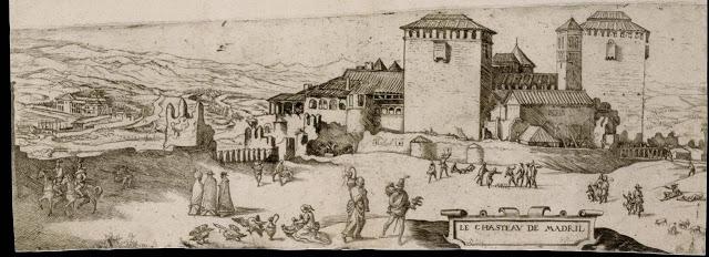 Le Chasteau de Madril de Ian Cornelius Vermeyen - 1534-1535