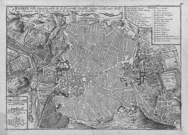 Plano Nicolas de Fer - 1700