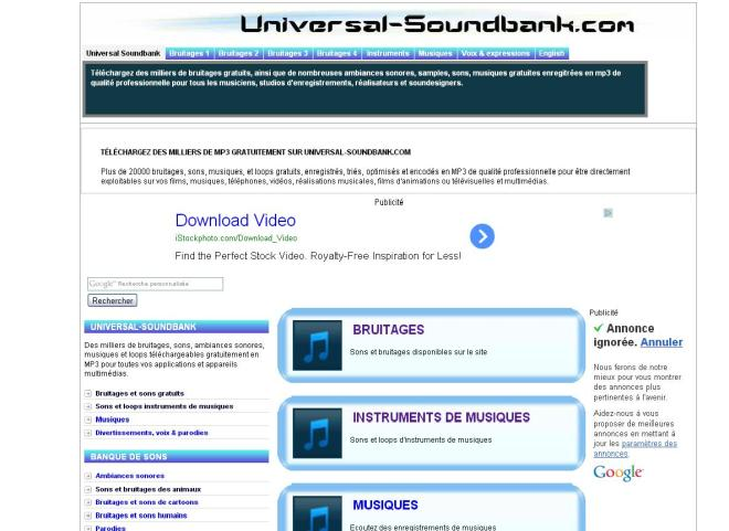 Universal Soundback