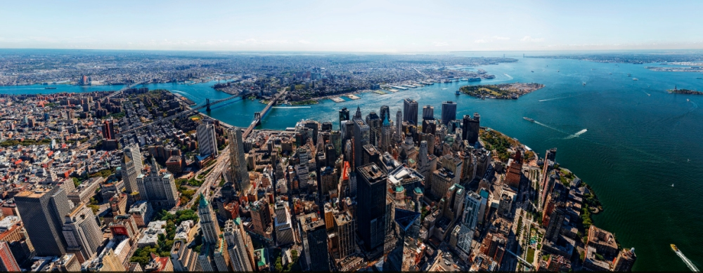 TIME Gigapan NYC from One World Trace Center - Gigafoto Nueva York