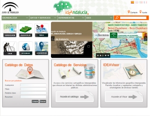 IDE Andalucía Portal