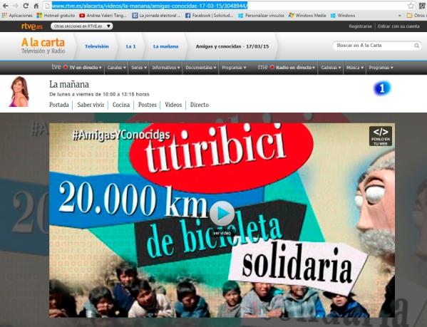 Página origen RTVE